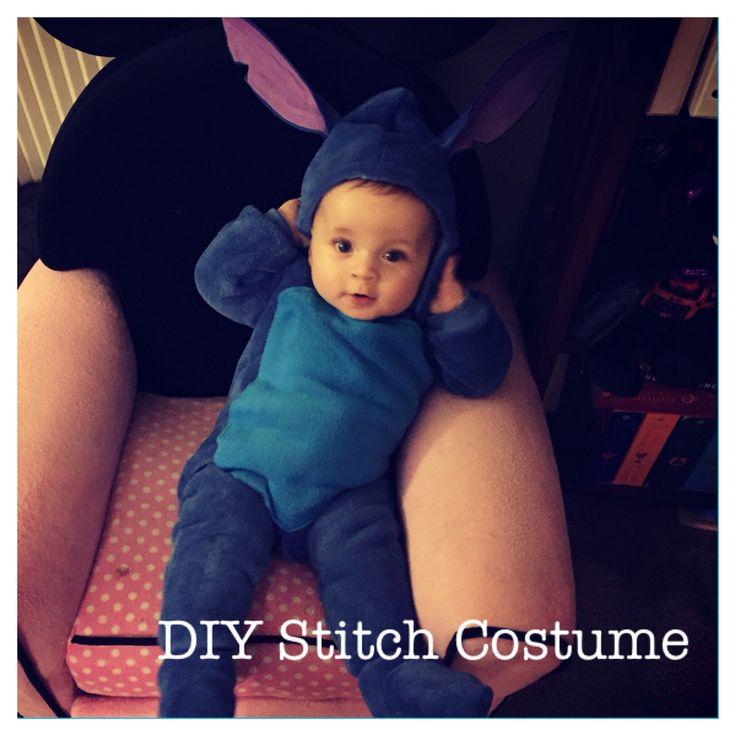 Diy Baby Stitch costume in under an hour!