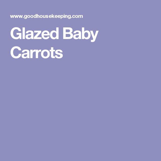 Glazed Baby Carrots