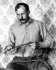 """Thomas """"Tom"""" Horn, Jr. (November 21, 1860 – November 20, 1903) was an American Old West lawman, scout, soldier, hired gunman, detective, outlaw and assassin. On the day before his 43rd birthday, he was hanged in Cheyenne, Wyoming, for the murder of Willie Nickell."""