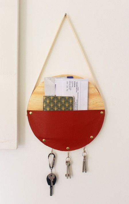 Porta correspondência e chaves (Várias cores) - Casa de Criação A Vó Queria...