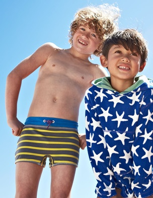 Love Boden Toweling Hoodies And The Swim Trunks
