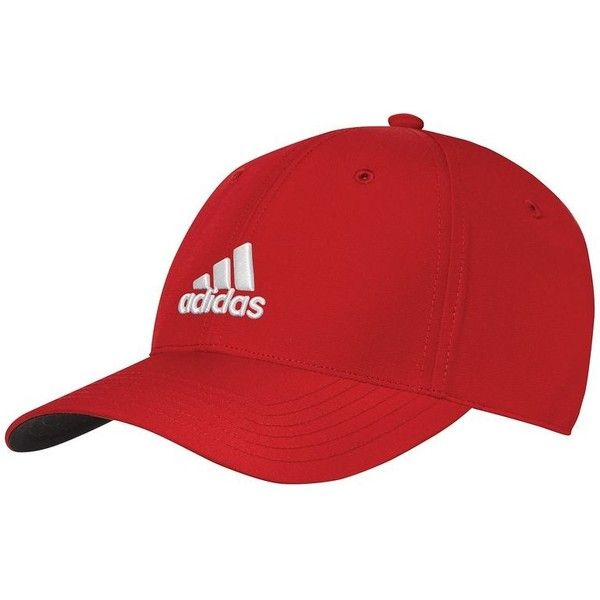 Adidas Red Cap ($39) ❤ liked on Polyvore featuring accessories, hats, red cap, adidas, adidas cap, cap hats and adidas hat