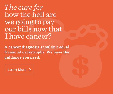 #LIVESTRONG has the guidance you need so that a cancer diagnosis doesn't have to equal financial catastrophe. #DailyCures
