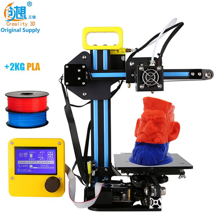 CREALITY 3D 12864LCD Display 3d Metal Printer Large Printing Size CR-7 Cheap 3d Printer DIY Kit 2KG PLA Filament Gift For Kids *** AliExpress Affiliate's Pin. View the item in details by clicking the VISIT button