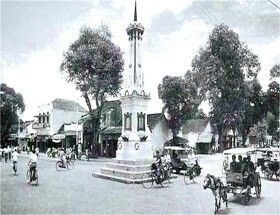 Perempatan Tugu, 1925 Jogyakarta
