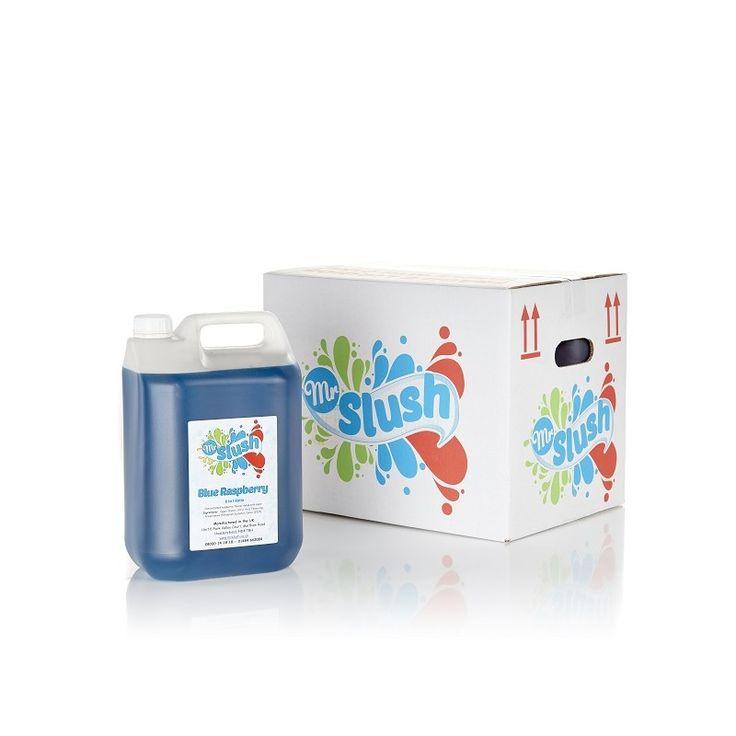 Blue Raspberry Slush Syrup - MrSlush