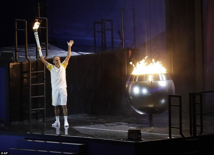 The Rio Olympic Games have officially begun after de Lima lit the Olympic flame during the opening ceremony
