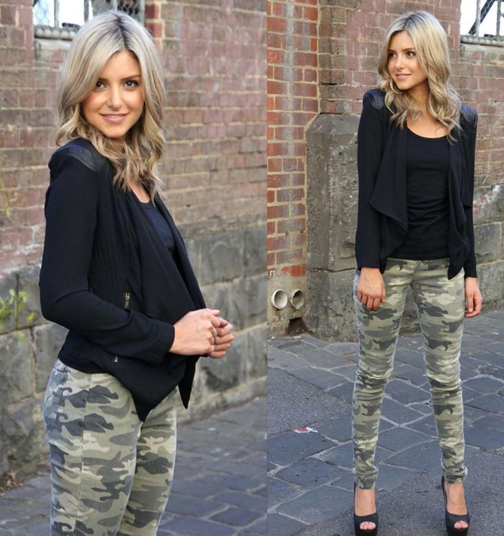 Camo Skinny Jeans | Army Print Camo  http://2dayslook.com2dayslook.com