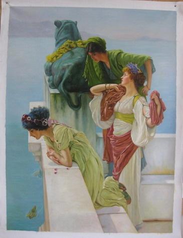 Greek Women - Artist: Mariela Malone