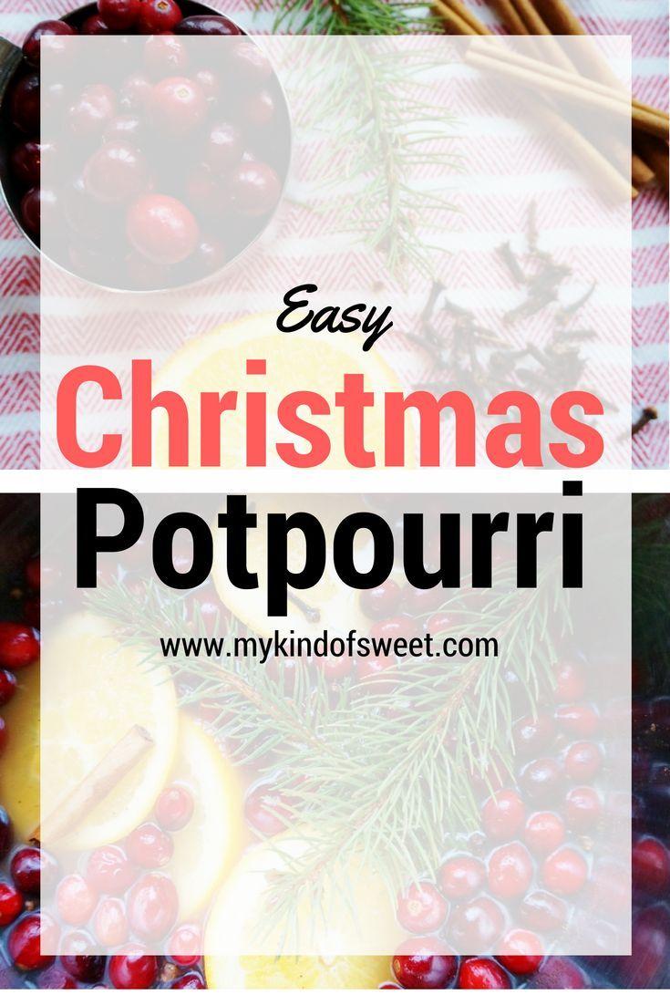 Christmas Potpourri at home