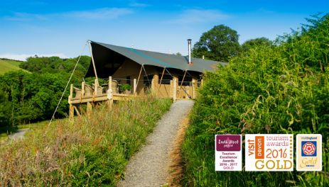Award Winning Safari Lodges at Longlands near Combe Martin Devon