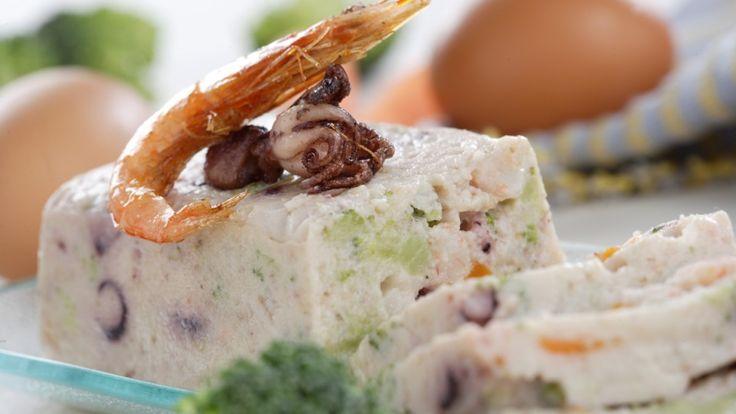 Pastel de pescado y marisco