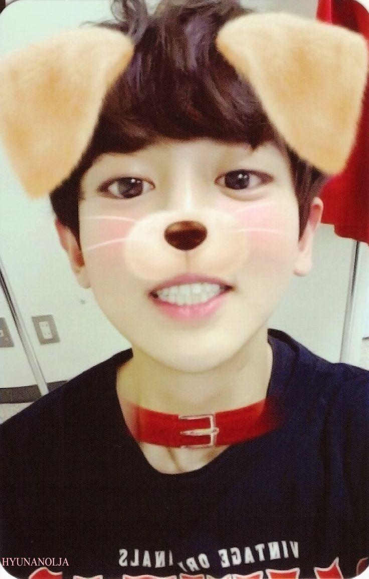 photocard puppy yeol