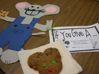 If you give a mouse a cookie project