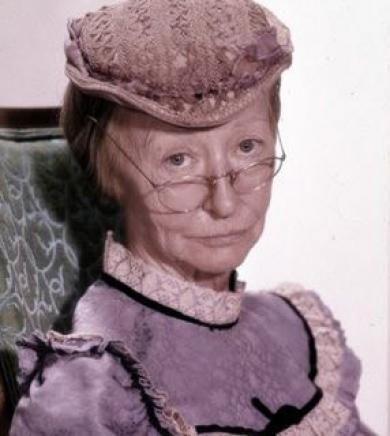 Irene Ryan 1902-1973...Granny in The Beverly Hillbillies...  She attended Clarke College (University) in Dubuque, Iowa while it was still a Ladies Finishishing School.