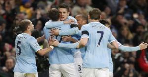 Manchester City jugará por primera vez los octavos de final de Champions League. (AP)