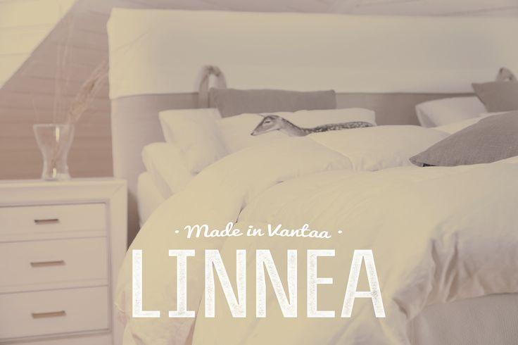 Linnea -sängynpääty tuo maalaisromanttista tunnelmaa makuuhuoneeseen. #habitare2015 #design #sisustus #messut #helsinki #messukeskus