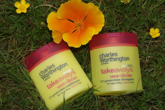The Sunday Girl :Scottish Make-Up and Beauty Blog: Charles Worthington Sun-Shine Hair Products