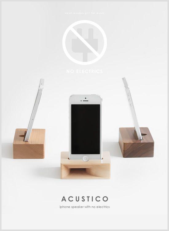 iPhoneスピーカー ACUSTICO(トップイメージ:1)