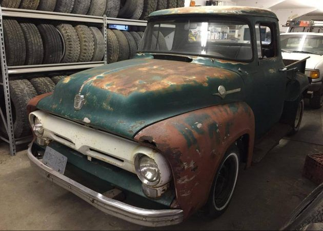 Patina And Parts: 1956 Ford F100 #Trucks #Ford - https://barnfinds.com/patina-parts-1956-ford-f100/