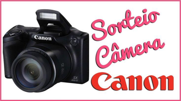 SORTEIO DE FIM DE ANO!!! CÂMERA SEMI PROFISSIONAL CANON SX400IS (Inscriç...