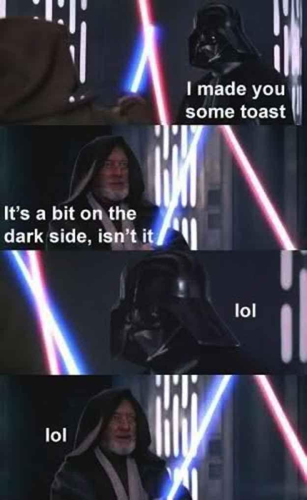 "Obi-Wan Kenhegetanyfunnier?   25 Times The Internet Made ""Star Wars"" Hilarious"