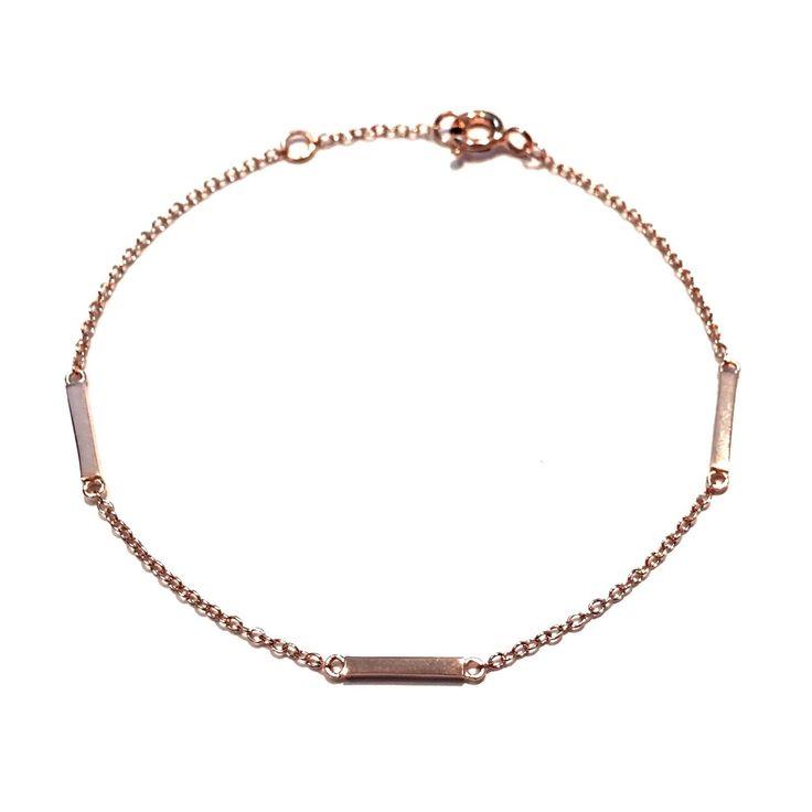 Three Small Bars Bracelet