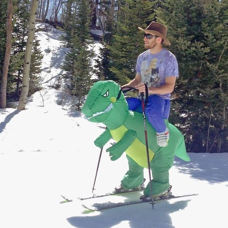 Inflatable Riding T-Rex Dinosaur Costume (Kids and Adults)