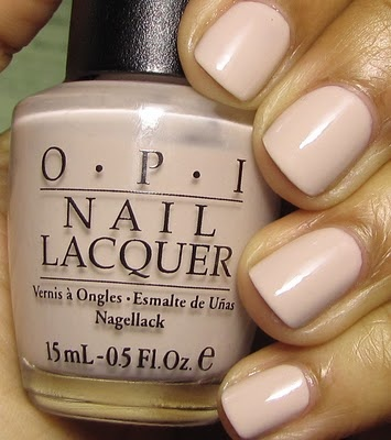 OPI Let Them Eat Rice Cake. perfect for newsprint nails