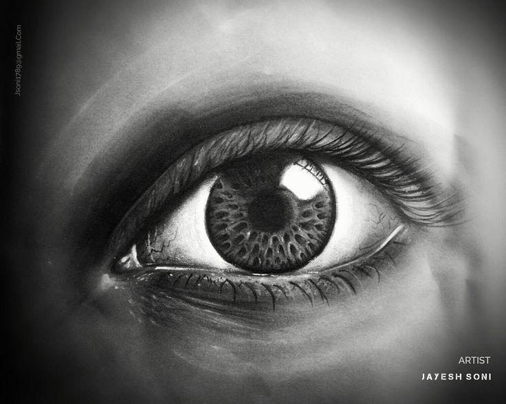Title - Realistic Eye Medium - charcoal Size - A4  Art by - jAYESH SONI hope U all like it..  #drawing #sketchbook #eyedrawing #realisticdrawing #realism #art #pencildrawing #artist #artistic #artpencil #artby #jayeshsonitattoo #bhopal #indianartist #india #indian #artworks #artworld #arthistory #gray #charcoal #charcoalart #charcoaldrawing #instagood #instagram #instagramer #instart