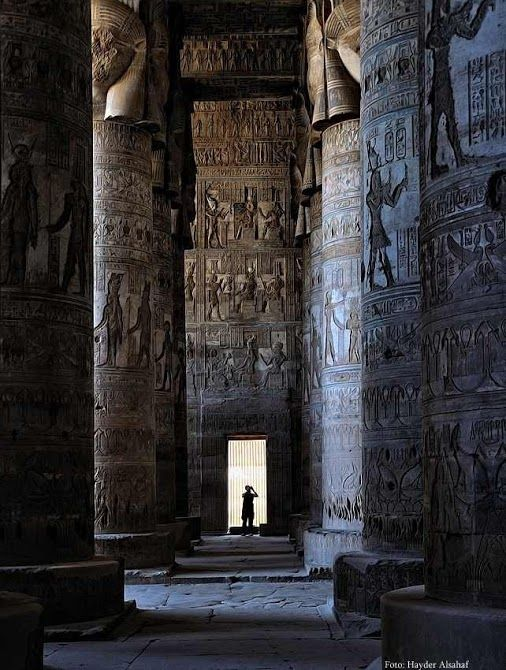 Dendera Travel Packages; Goddess Hathor temple in Qina, Egypt. #Egypt #Nile #Cruises #Tours #Trips