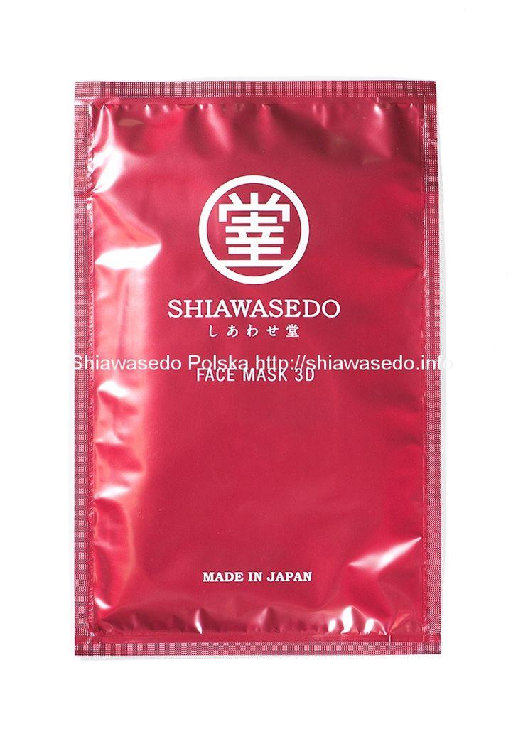 Shiawasedo 3D Face Mask (1 szt.)