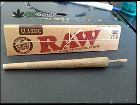 How to Roll a Joint in 3 Minutes - The Stoner's Cookbook
