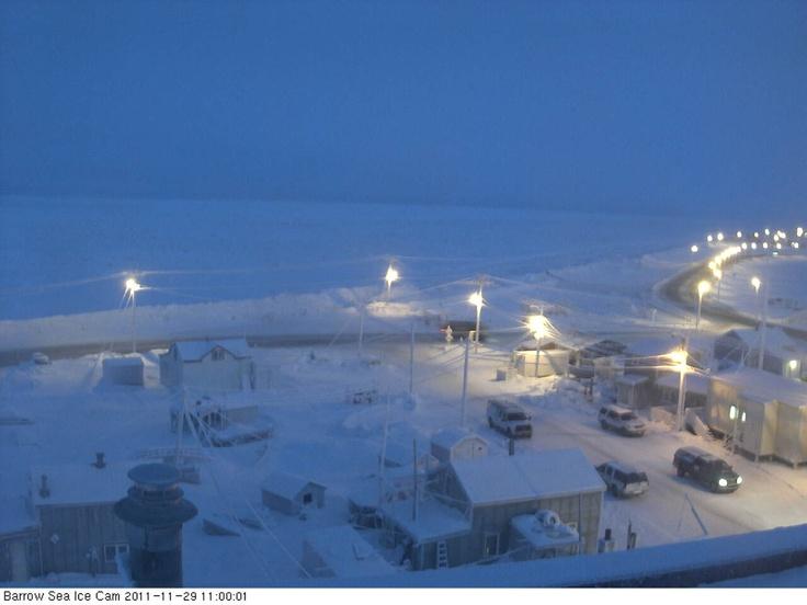 Barrow, Alaska Sea Ice Webcam
