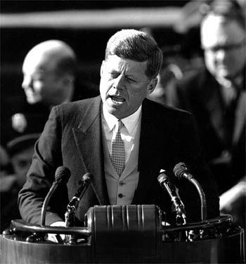 "John F. Kennedy Inaugural Address | ""And so, my fellow Americans: ask not what your country can do for you--ask what you can do for your country."" - John F. Kennedy, January 20, 1961"