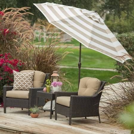 Patio Set With Umbrella Tilt   Google Search