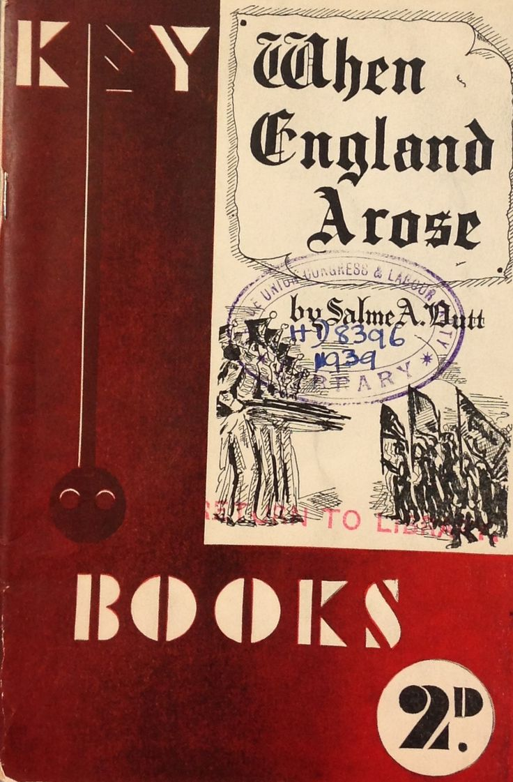 'When England Arose' published by Fore Publications, Ltd. 1939.