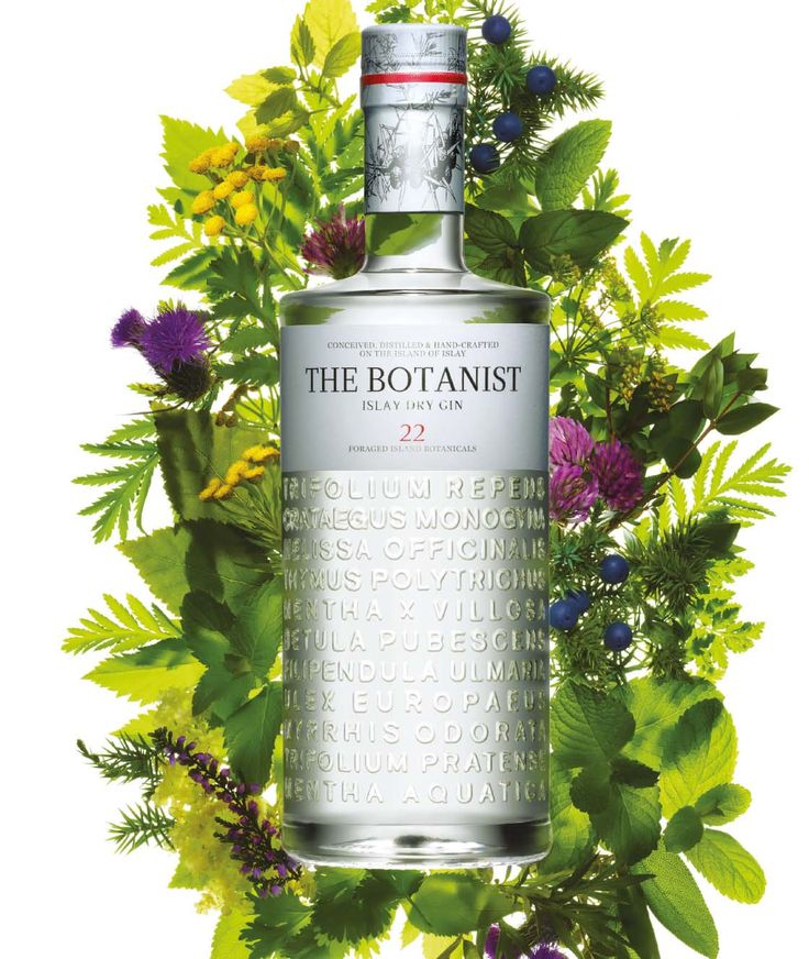 My love for Scotland doesn't stop at whisky: the Botanist Islay Dry Gin