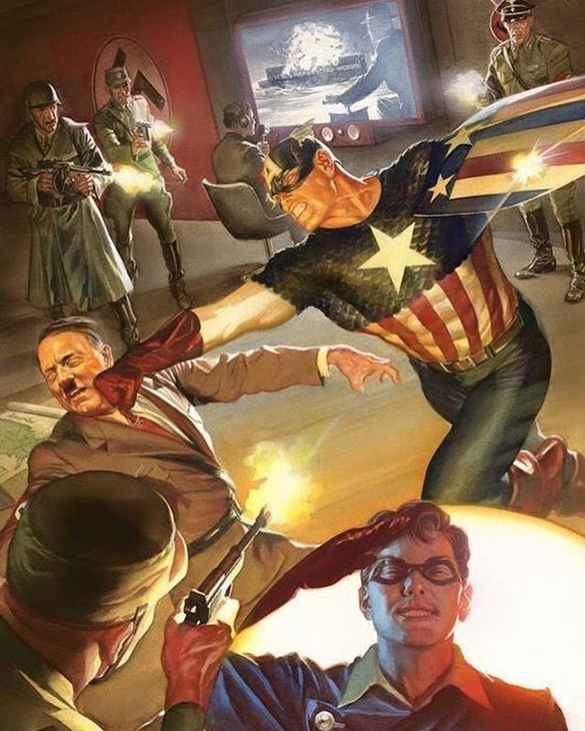 Captain America by Alex Ross #captainamerica  #marvel