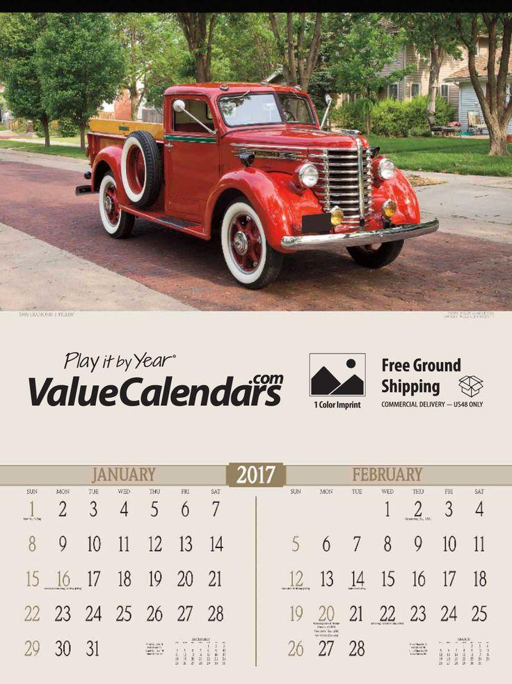 35 best Custom Vehicle Calendars images on Pinterest | Calendar ...