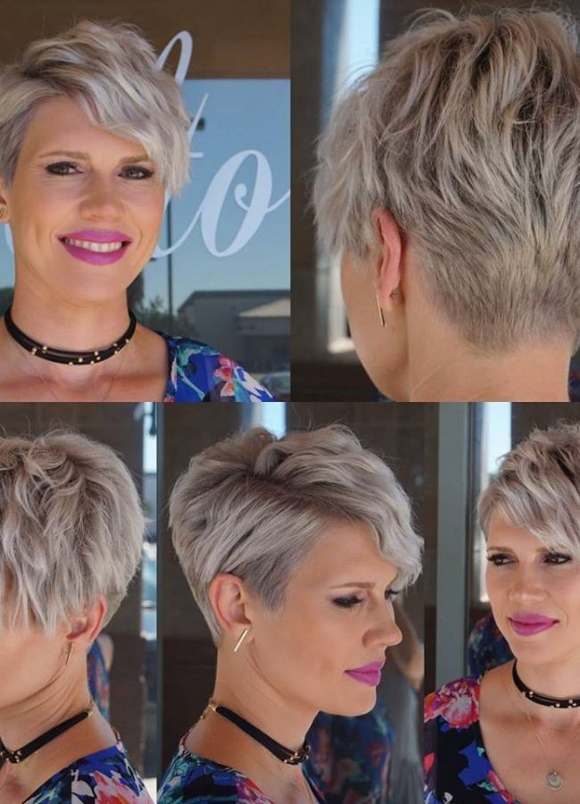 Grey is really a super trendy color! *** What hairstyle do you think is really beautiful?!