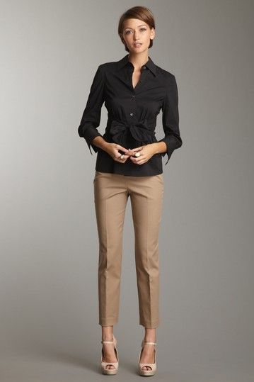 Love these pants!! Especially with heels!!