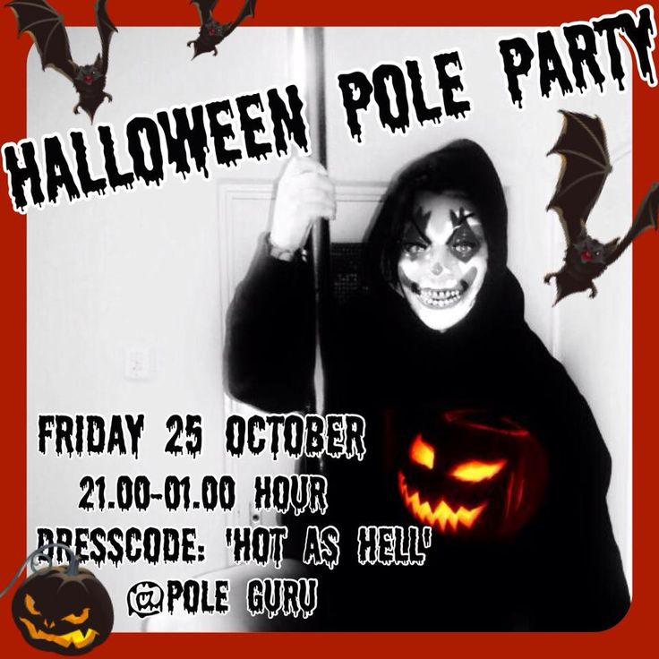 Halloween Pole Party - @ Pole Dance Studio Pole Guru