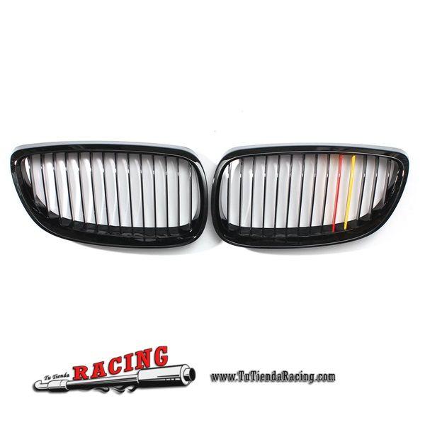 Juego de Parrillas Delanteras Color Negro Mate para Coche BMW 3 Series 2 door E92 -- 54,32€ Envío gratuito a toda España en todos los productos