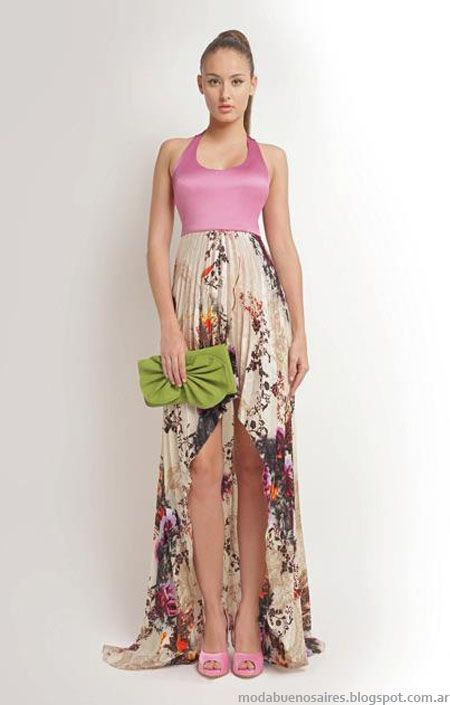 Pink -Floral maxi