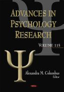Advances in psychology research / Alexandra M. Columbus, editor