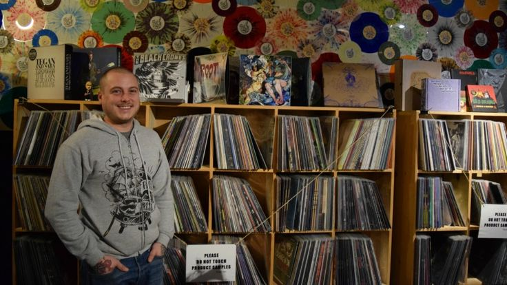 Pirates Press founder Eric Mueller; photo by Shelby Pope - #vinyl