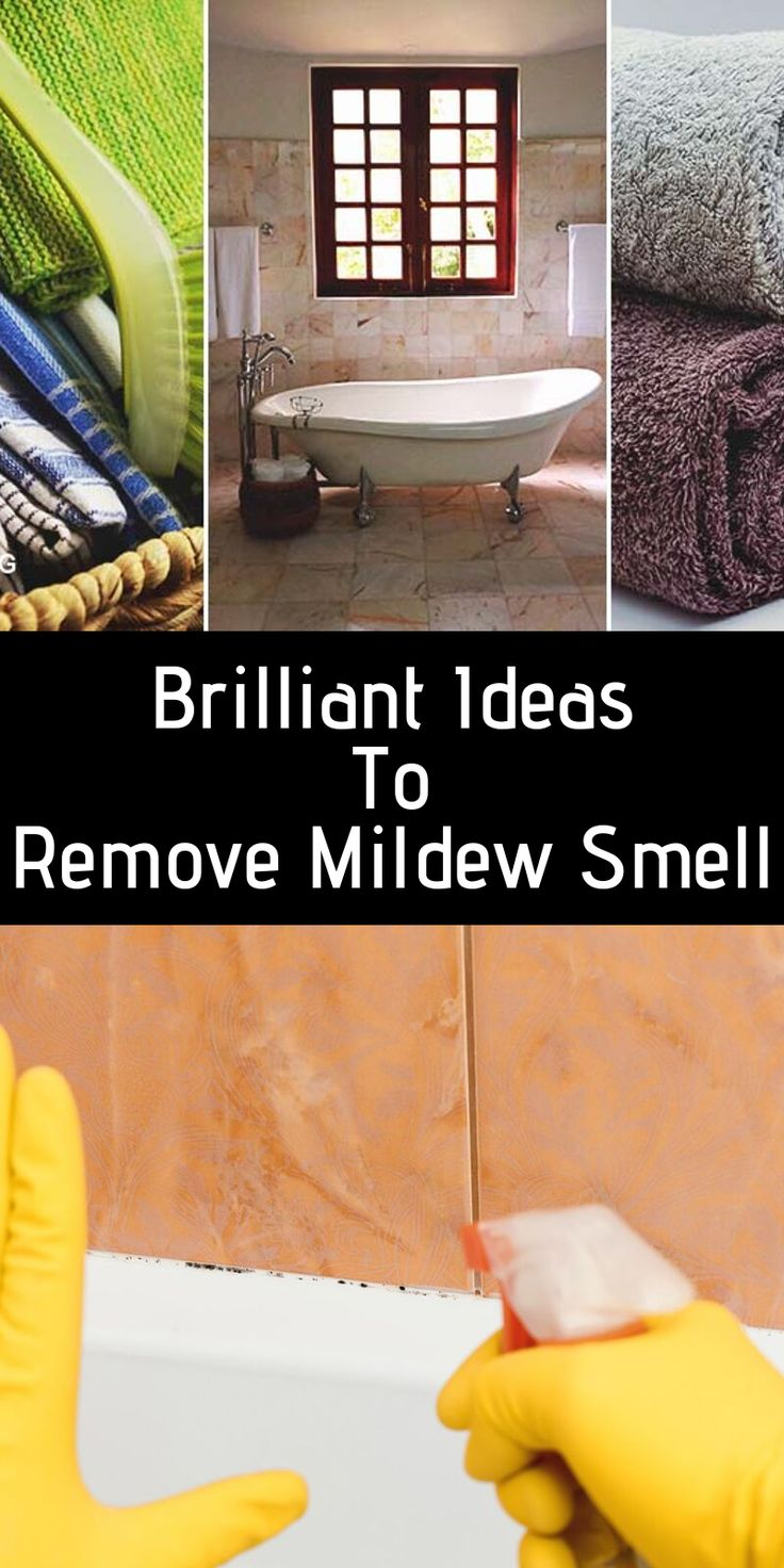 How To Remove Mildew Smell Mildew smell, Mildew