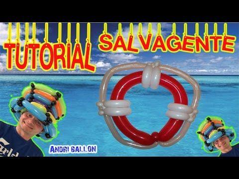 PALLONCINI MODELLABILI tutorial 18  SALVAGENTE - YouTube
