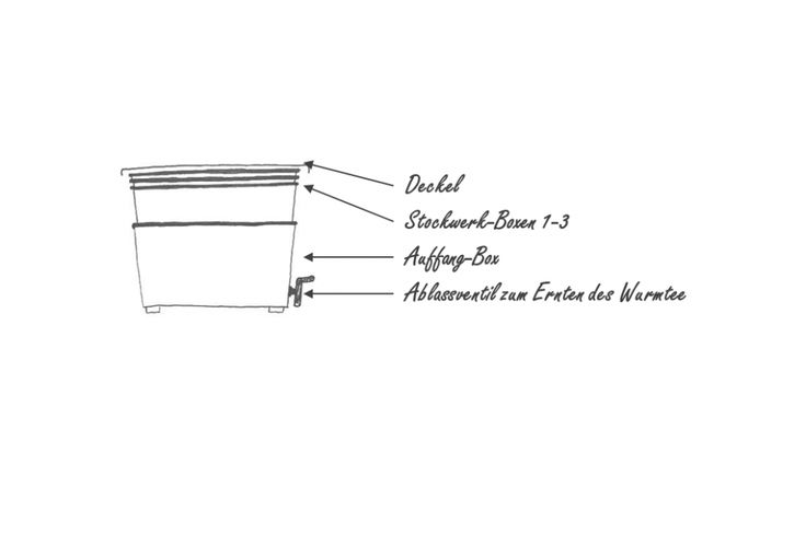 Anleitung zum Betreiben einer Wurmfarm – Kompostherstellung